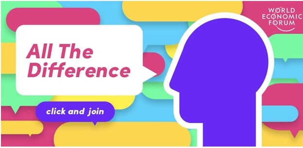 TikTok, World Economic Forum partner in #AllTheDifference challenge