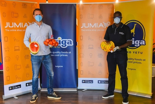 Twiga Foods & Jumia partner to deliver fresh food to Nairobi residents